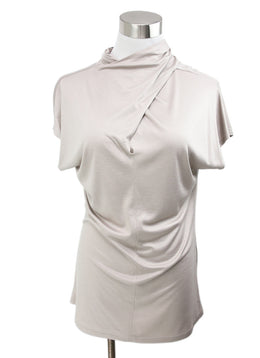 Reiss Neutral Viscose Top 1