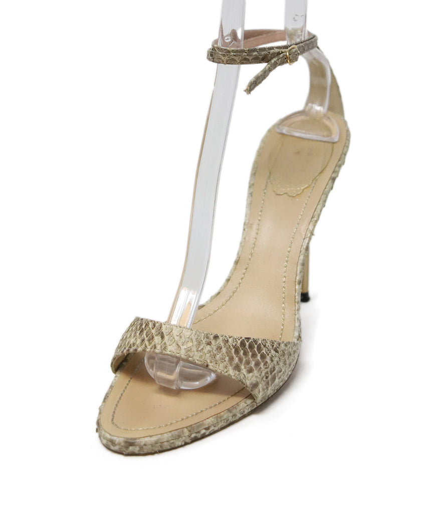 Sandals Rene Caovilla Shoe Size Us 8 5 Neutral Beige Snake Skin Shoes Michael S Consignment Nyc