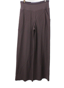 Rick Owens Brown Wide Leg Pants