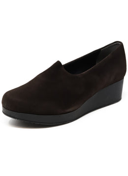 Robert Clergerie Brown Suede Shoes
