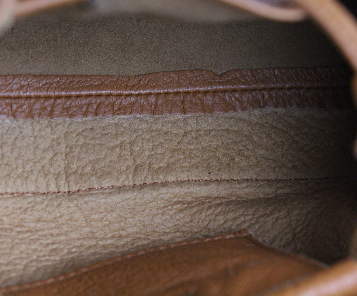 Roberto Cavalli Neutral Brown Leather Handbag 6