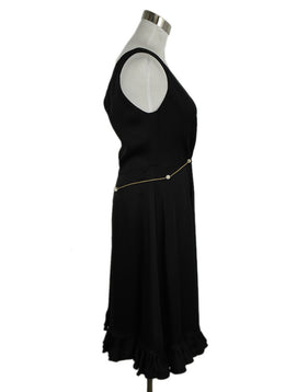 Roberto Cavalli Black Silk Evening Dress 2