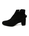 Roger Vivier Black Suede Buckle Booties 2