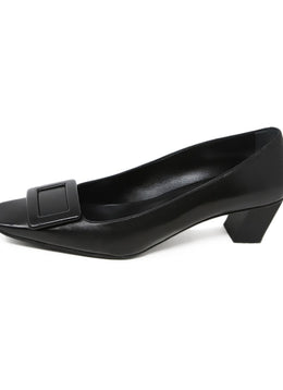 Roger Vivier Black Leather Heels 2