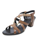 Roger Vivier Brown Leather Sandals 1