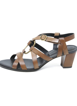Roger Vivier Brown Leather Sandals 2
