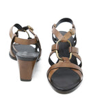 Roger Vivier Brown Leather Sandals 3