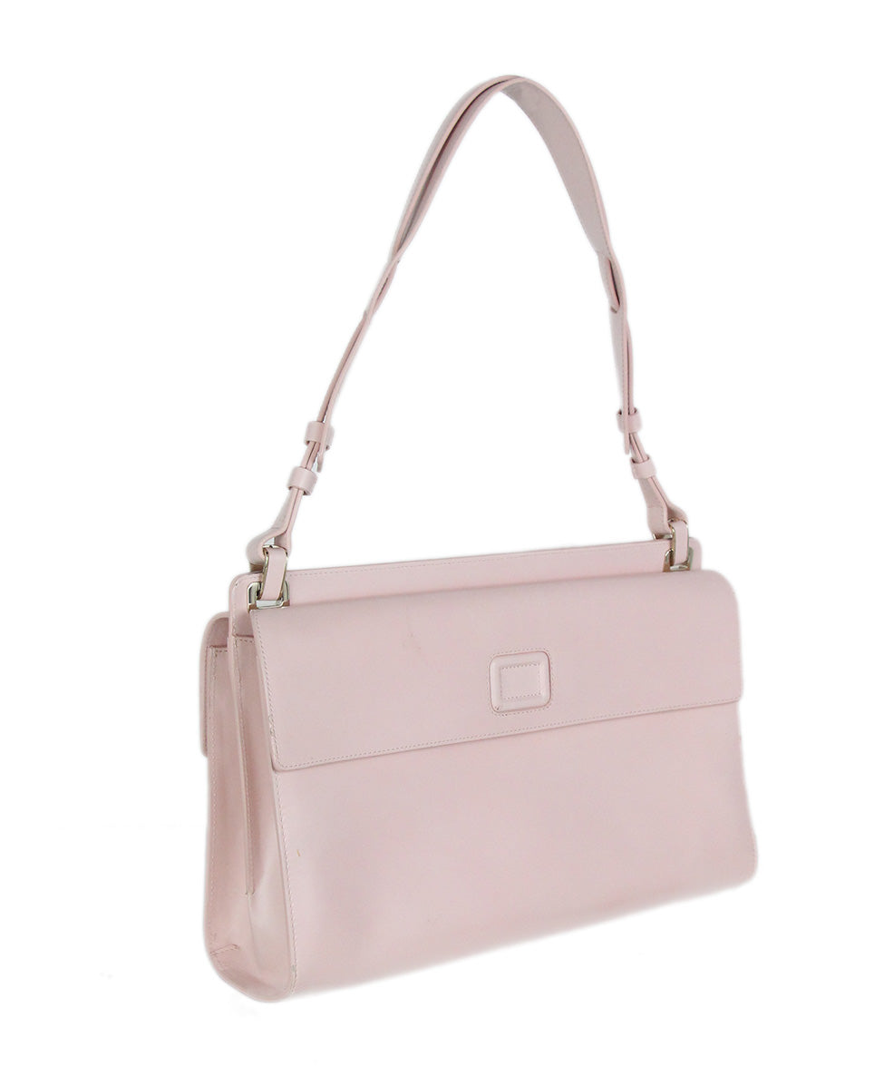 Roger Vivier pink leather shoulder bag 2