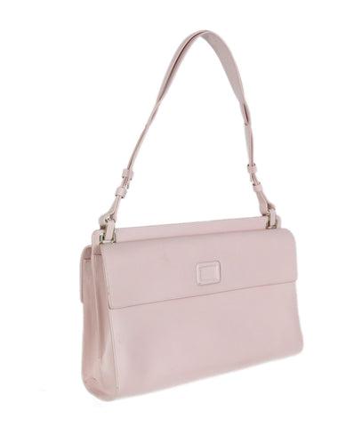 Roger Vivier pink leather shoulder bag 1