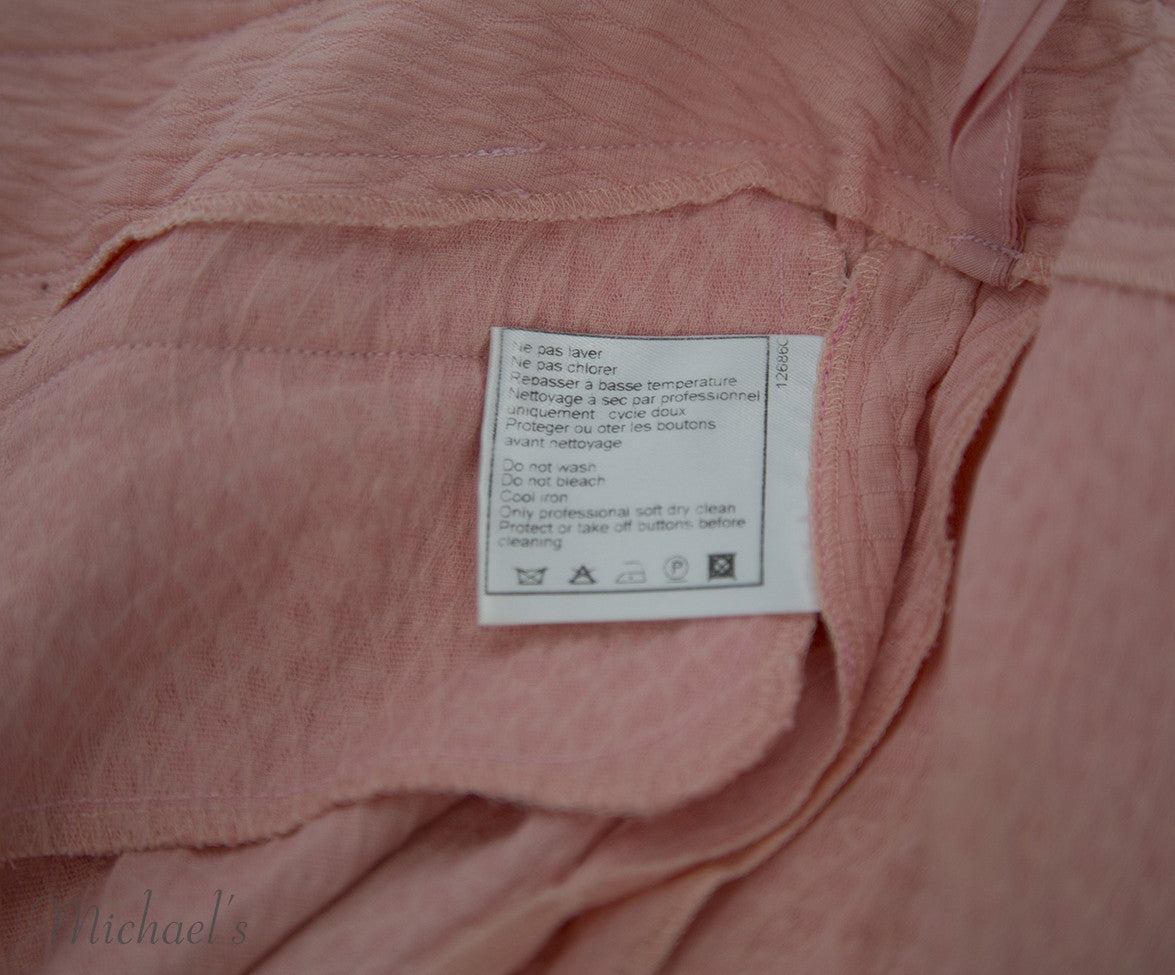 Chanel Pink Cotton Shorts Sz 40 - Michael's Consignment NYC  - 9