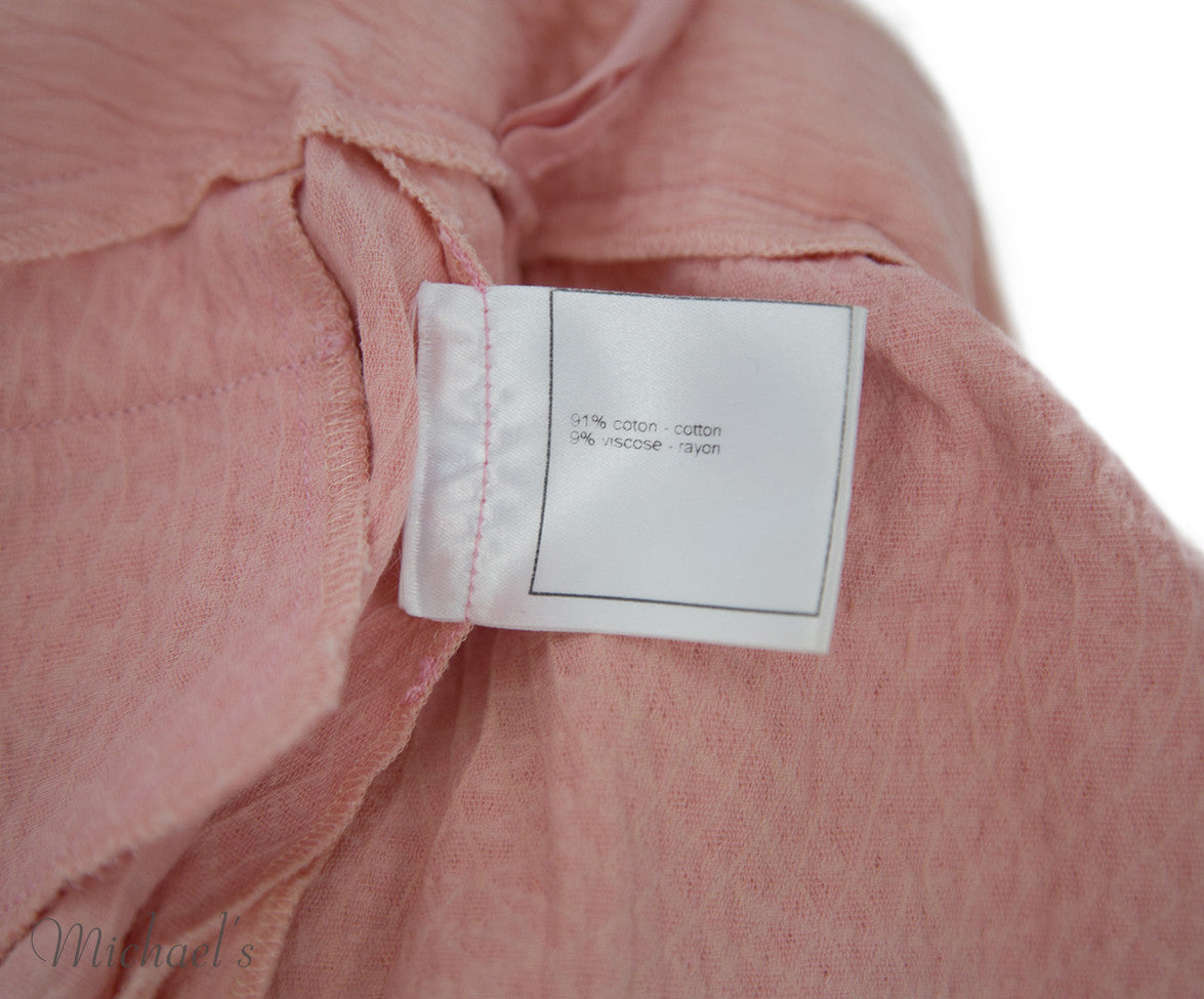 Chanel Pink Cotton Shorts Sz 40 - Michael's Consignment NYC  - 10