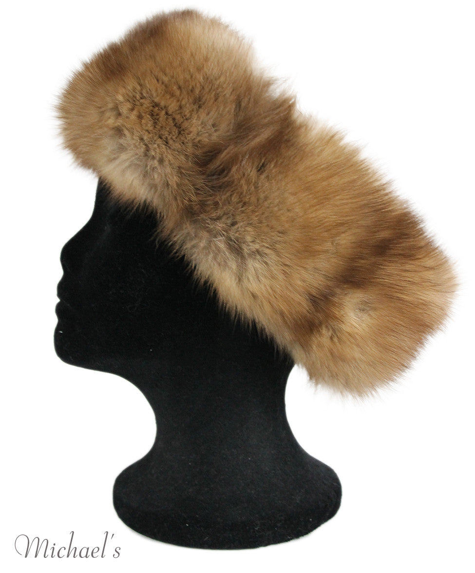 Brown Sable Fur Headband - Michael's Consignment NYC  - 3