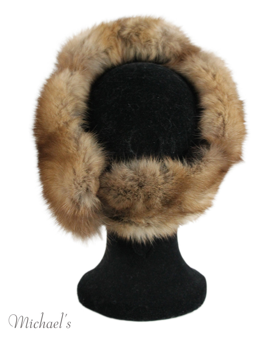 Brown Sable Fur Headband - Michael's Consignment NYC  - 4