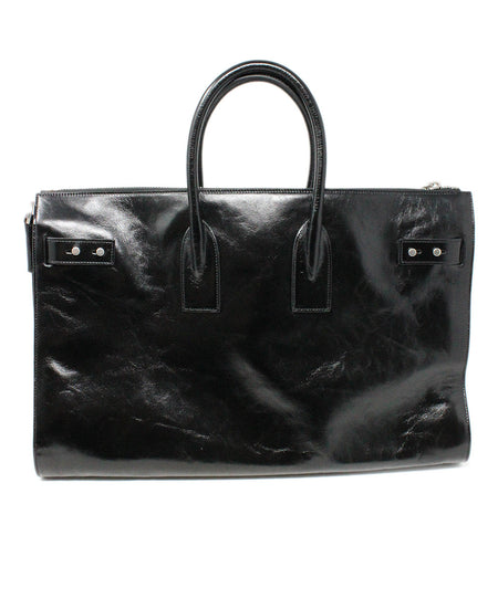 Louis Vuitton Black Epi Patent Leather Satchel