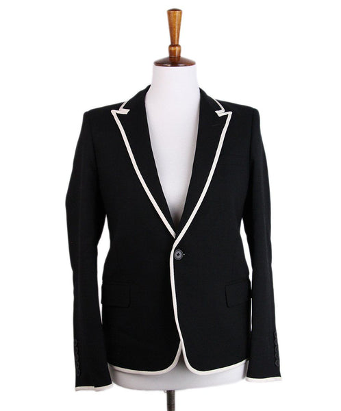 Saint Laurent Black White Trim 1