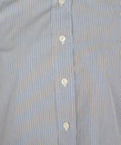 Salvatore Piccolo Blue and White Striped Blouse 5