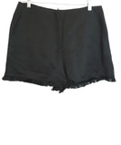 Sandro Black Cotton Shorts 1