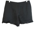 Sandro Black Cotton Shorts 2