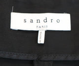 Sandro Black Cotton Shorts 3
