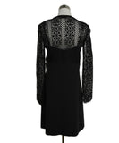Sandro Black Lace Polyamide Dress 3