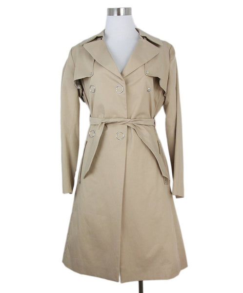 Sandro khaki cotton trenchcoat 1