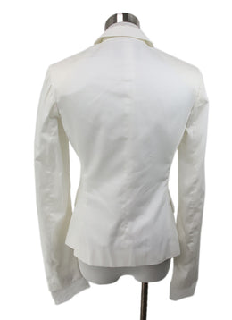 Scervino White Cotton Jacket 3