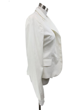 Scervino White Cotton Jacket 2