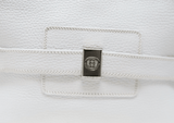 Gucci Vintage White Leather Shoulder Bag