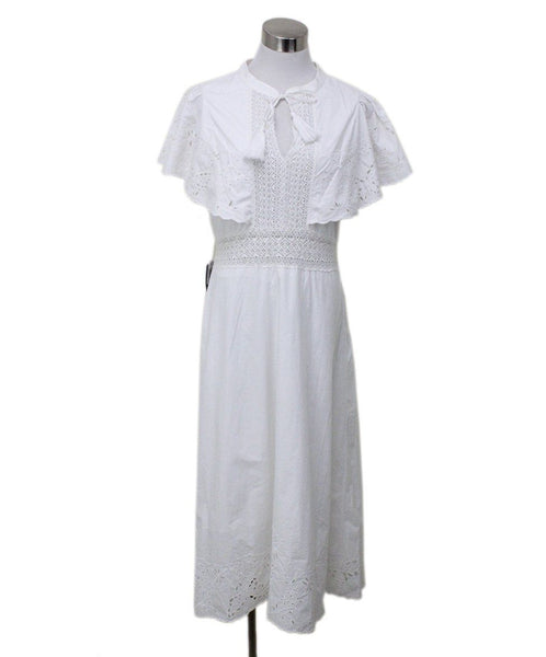 Sea White Cotton Eyelet Dress sz 4