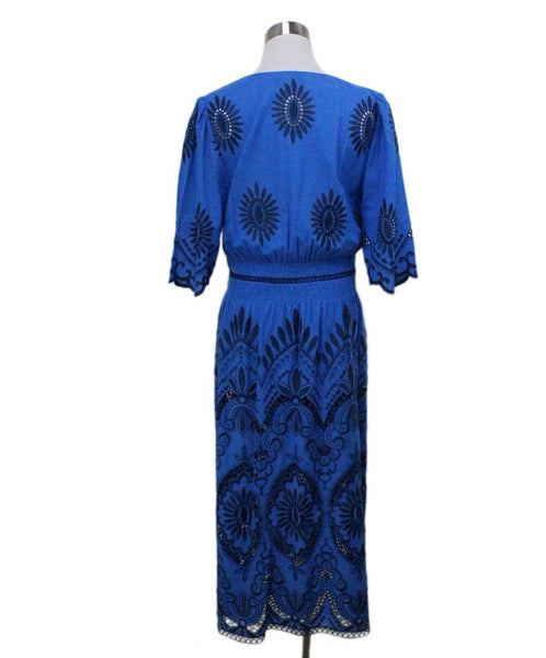 Sea New York Blue Embroidery Dress 2