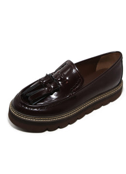See By Chloe Platform Burgundy Loafers 2