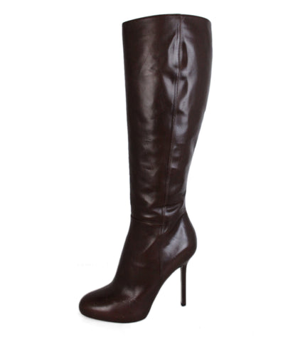 Sergio Rossi Brown Leather Boots 1