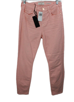 Seven Pink Cotton Pants 1