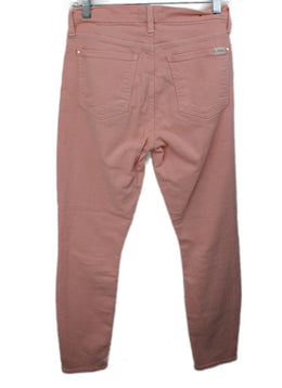 Seven Pink Cotton Pants 2