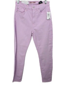 Seven Purple Lilac Cotton Pants 1