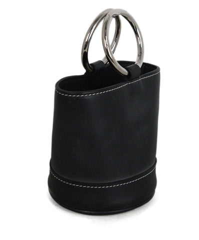 Simon Miller Black Leather Bag 1