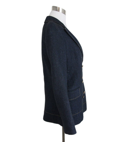 Sonia Rykiel Blue Denim Jacket 1