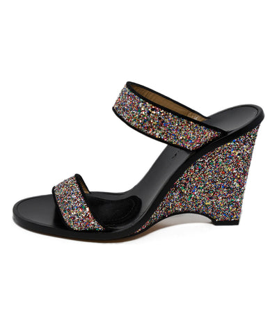 Sonia Rykiel Metallic Rainbow Glitter Sandals 1