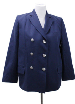 Sonia Rykiel Navy Cotton Jacket