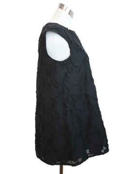 Sonia Speciale Black Lace Cotton Polyamide Top 2
