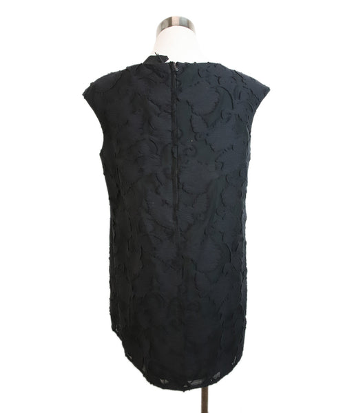 Sonia Speciale Black Lace Cotton Polyamide Top 3