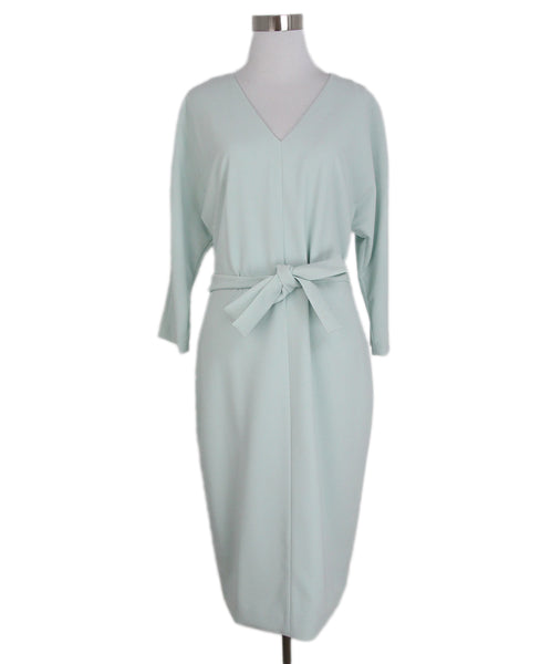 St. John Green Mint Dress with Belt 1