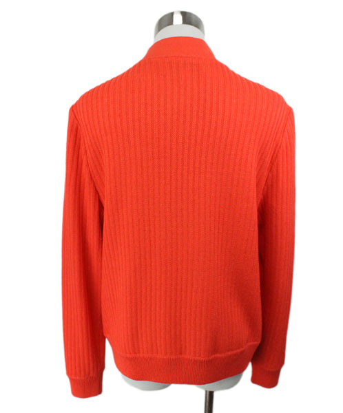 St. John Orange Knit Jacket 3