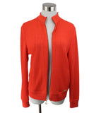 St. John Orange Knit Jacket 1
