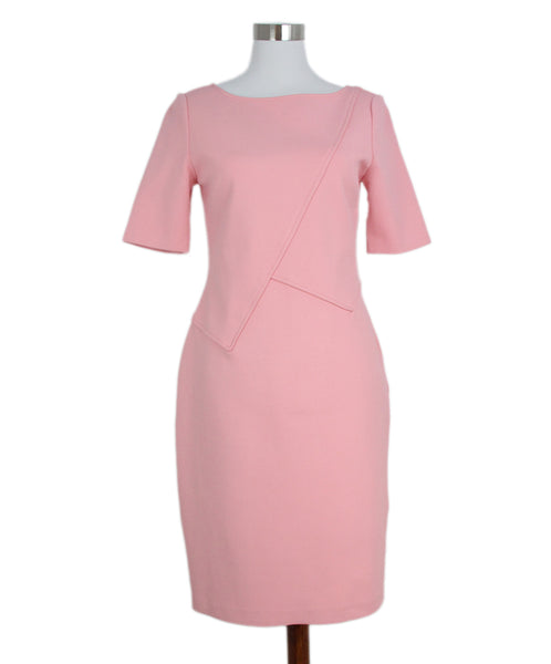 St. John Pink Knit Dress 1