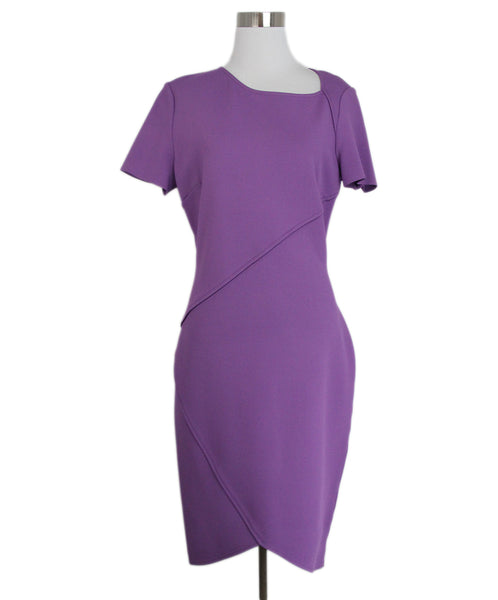 St. john purple knit dress 1