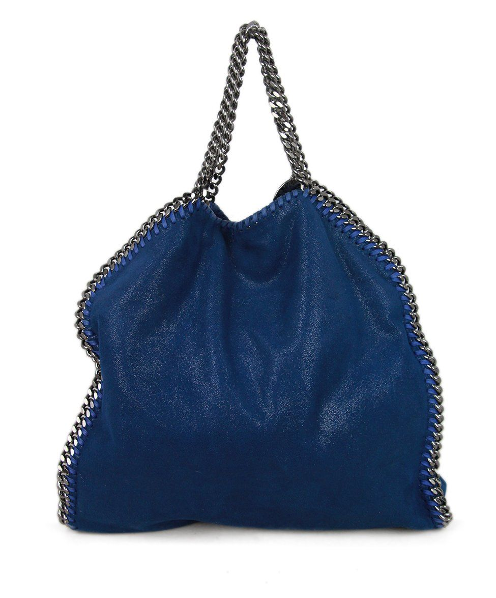 Stella McCartney Blue Silver Suede 3
