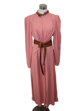 Stella McCartney Pink Mauve Viscose W/Belt Dress 1