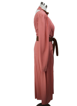 Stella McCartney Pink Mauve Viscose W/Belt Dress 2