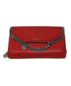 Stella McCartney Red Vegetarian Material Wallet 1